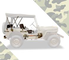 militarize seu jeep!